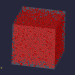 3D high density particles
