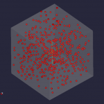 Spheres in a cube, low density
